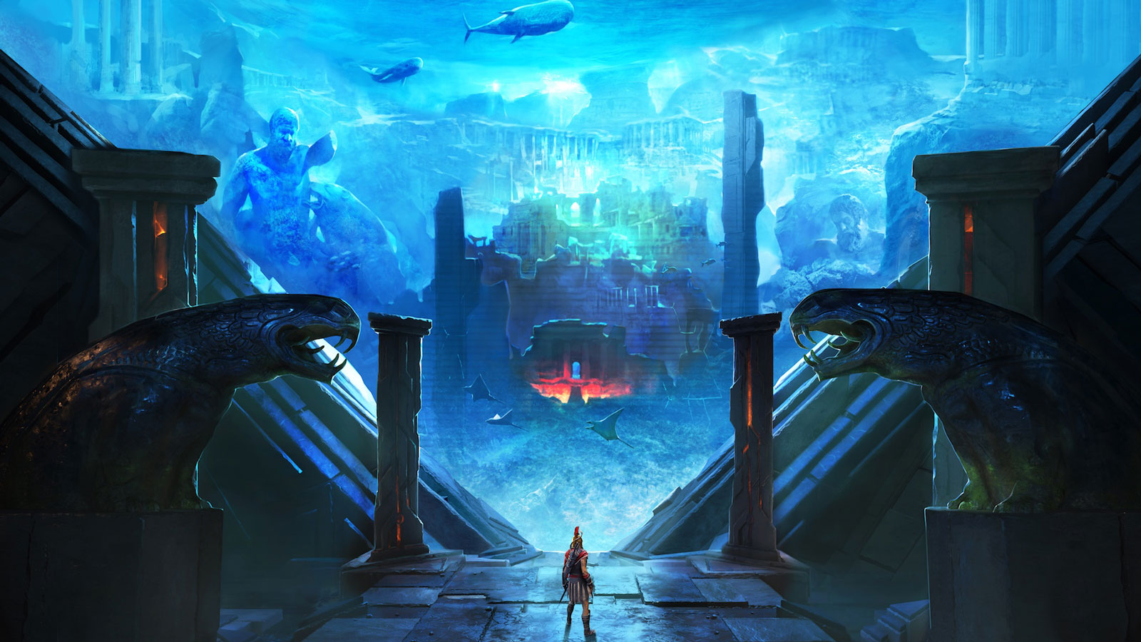 The Assassin S Creed Odyssey Season Pass Will Take You To Atlantis
