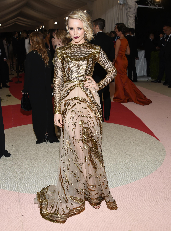 Rachel McAdams' how to get her makeup look from the Met Gala