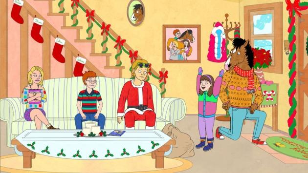 Netflix drops in a surprise 'Bojack Horseman' Christmas special