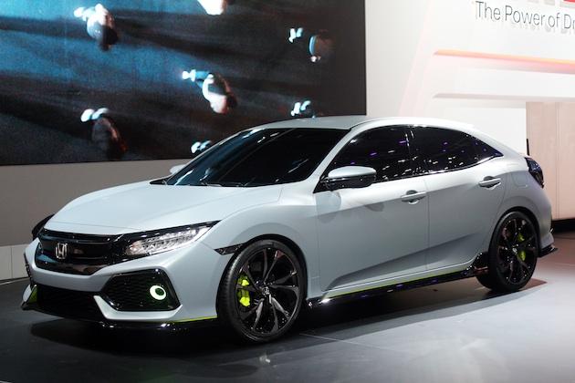 ホンダ、新型「シビック ハッチバック」プロトタイプモデルをジュネーブモーターショーにて世界初披露!