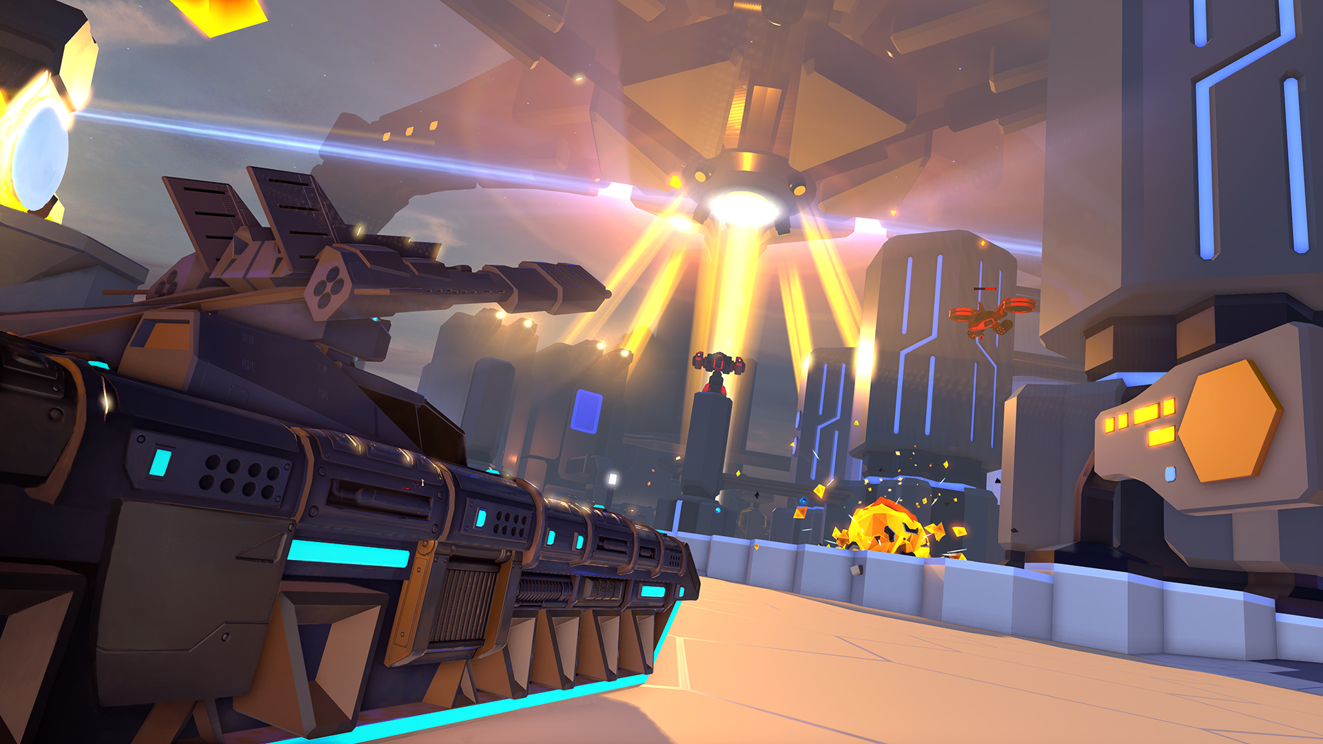 Play tank sim ''Battlezone' without a VR headset May 1st