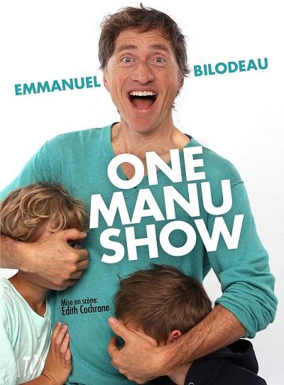 Le «One Manu Show» d'Emmanuel Bilodeau sur DVD le 24