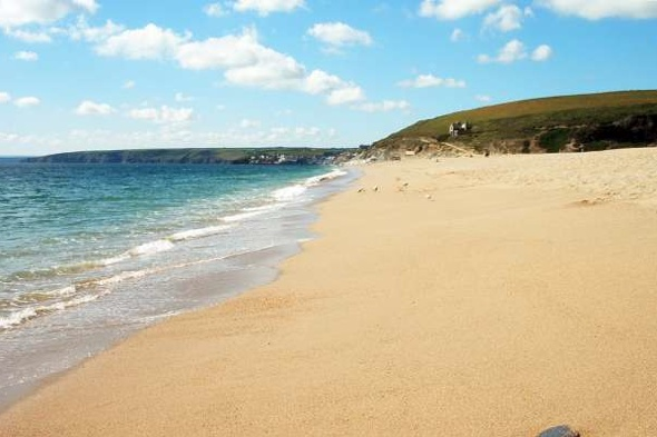Man died skinny dipping on Cornwall beach after wave broke neck