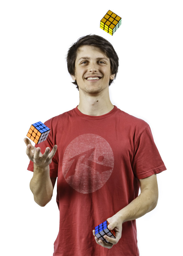 Feliks Zemdegs - Rubiks Cube Records Guinness World Records 2017 Photo Credit: Mark Dadswell/Guinness...