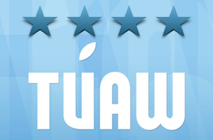 TUAW rating, four star rating out of four stars possible