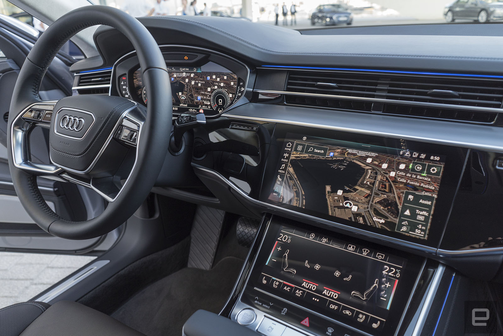 Audi S Flagship A8 Has An Overwhelming Amount Of Tech