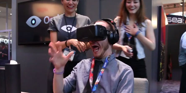 Oculus VR freaks editor out