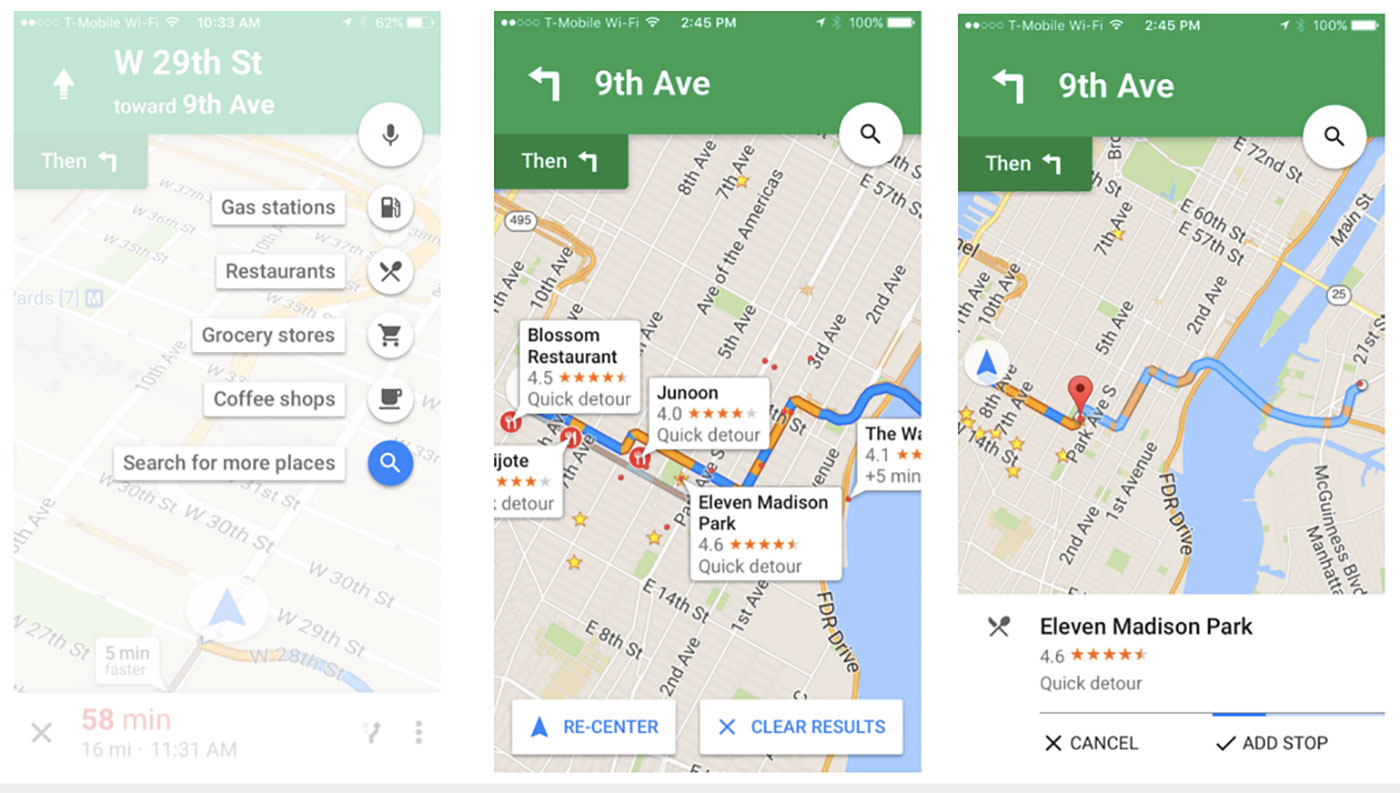 Google Maps pit stop feature arrives on iOS on google voice app, apple maps app, google facebook app, google places app, google maps app windows 8, google voicemail app, google docs app, google navigation app icon, google earth app,