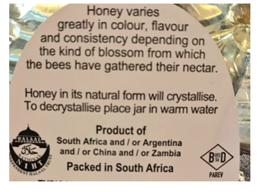 Which Bee Produced Your