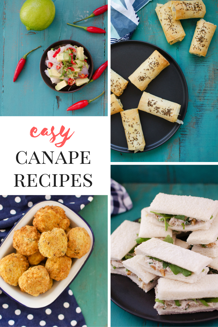Impress your guests with these easy hella fancy canapes see ya later tacky spring rolls and cocktail sausages forumfinder Choice Image