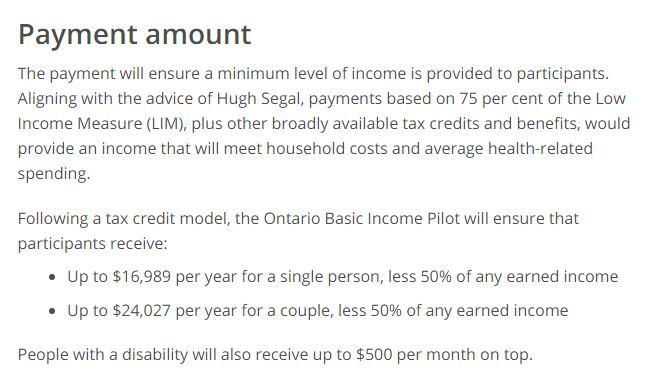 Il Canada sperimenta il reddito di
