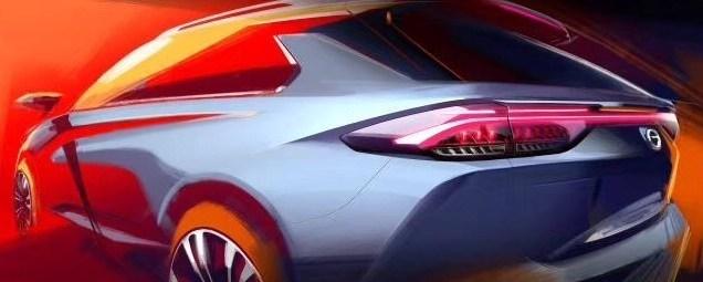 gac motor gs5 crossover design sketch
