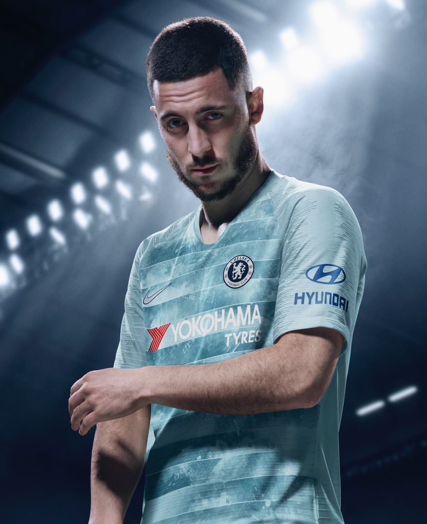 4f6ce950b86 Nike releases its first NFC-enabled soccer kit for Chelsea FC