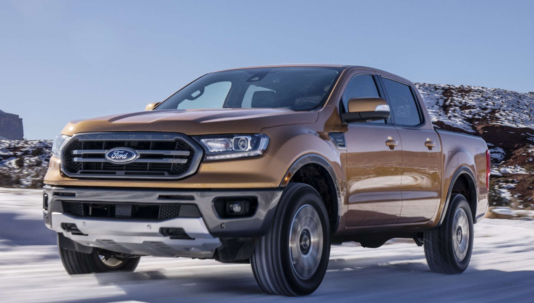 Ford Ranger 2019 >> Ford S 2019 Ranger Unveiled With Automatic Emergency Brakes