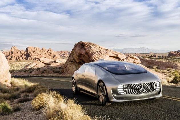 【ビデオ】メルセデス・ベンツ、自動運転車のコンセプトをCESでお披露目!