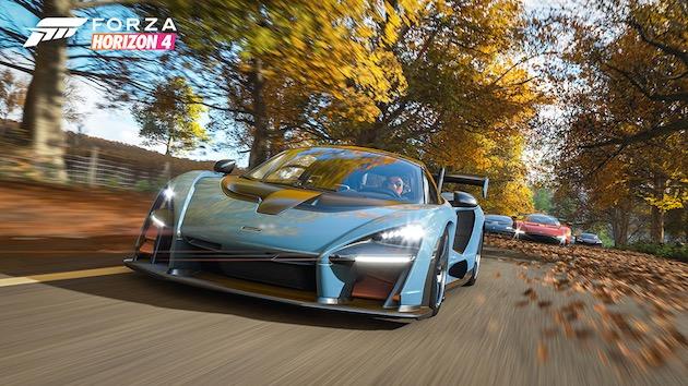 【ビデオ】オープン・ワールドのレーシング・ゲーム最新作『Forza Horizon 4』が発表 マクラーレン「セナ」で英国の田園地帯を突っ走れ!