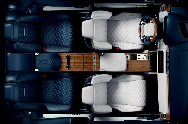 ランドローバー、2ドアの限定モデル「レンジローバー SV クーペ」を発売すると予告! まずはインテリア画像を公開