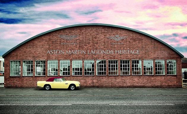 アストンマーティン、検査したクラシックカーに認定書を発行するプログラムを開始