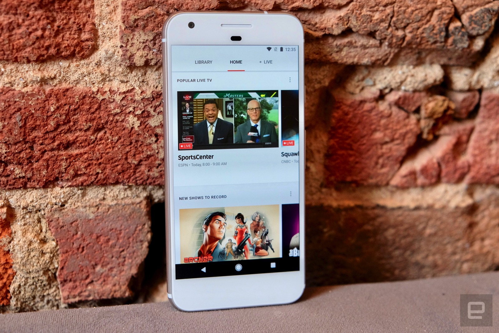 YouTube's live TV service is here