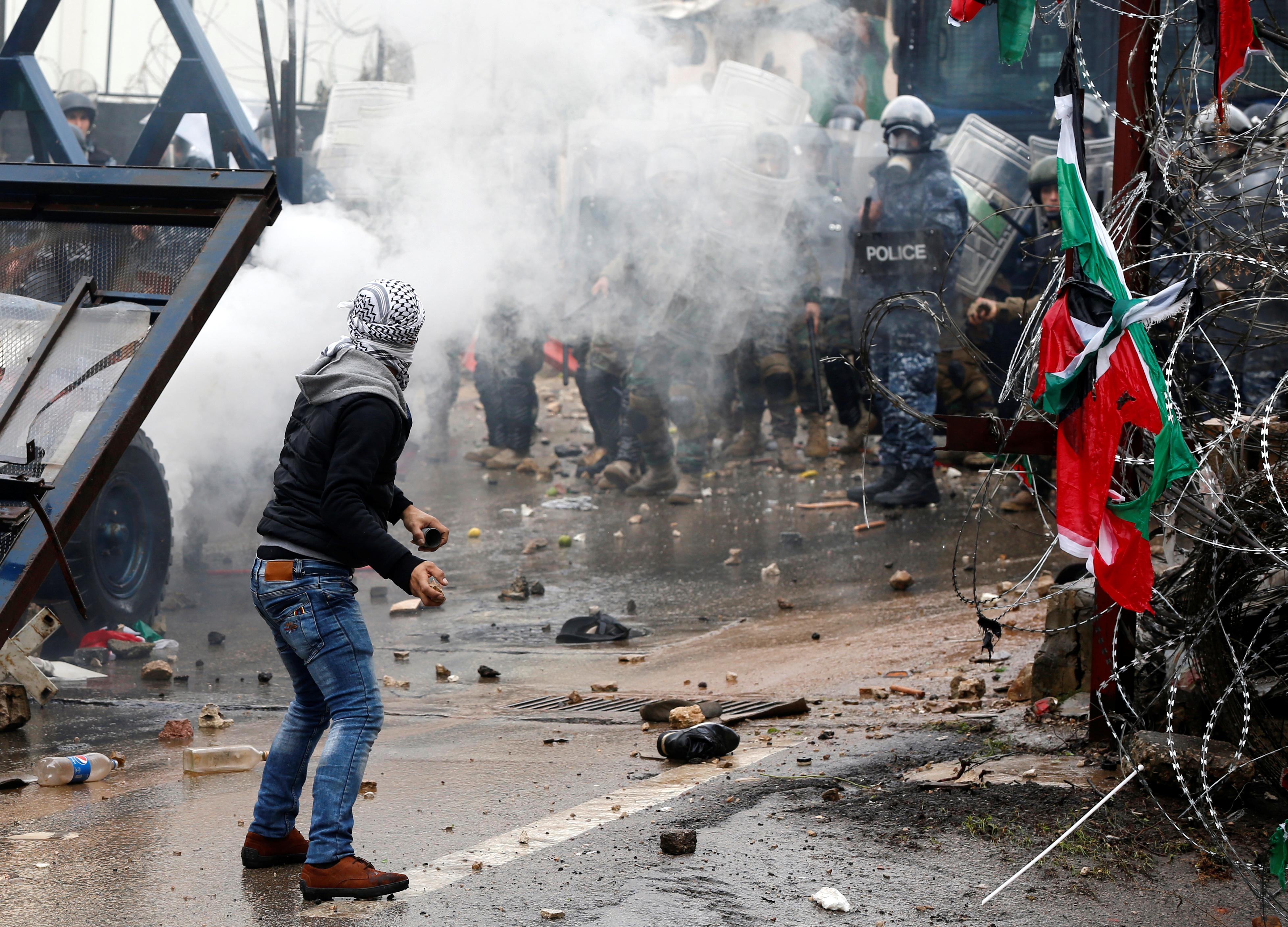 Las protestas no paran cuatro días después del anuncio de Trump sobre