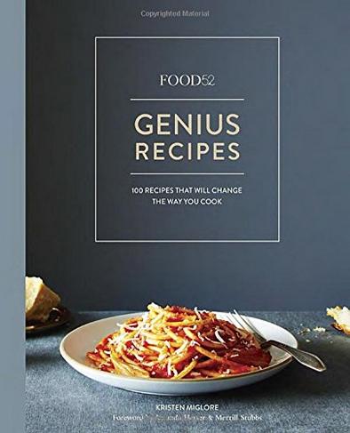 Genius Recipes cookbook, best cookbooks gift guide