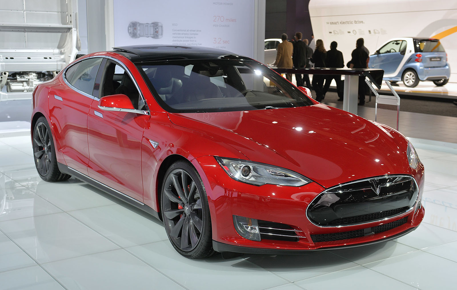 Tesla S Entry Level Model S Gets A 2 000 Price Hike