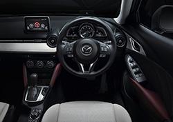 Mazda cx 3 interior 2016
