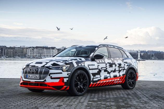 アウディが間もなく発売する新型電気自動車「e-tron」の航続距離を発表! WLTPでは予想を下回る数値に