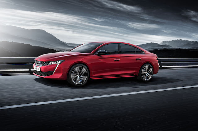 Peugeot unveiled its new sport sedan