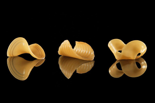 MIT 3D-printed the shape-shifting future of pasta