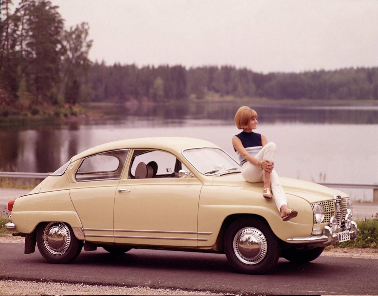 vintage saab model 96