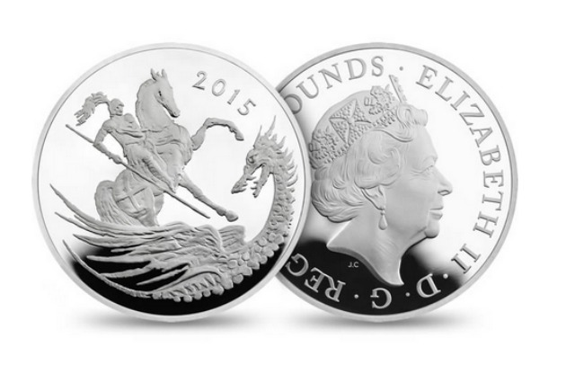£5 commemorative coin for Prince George