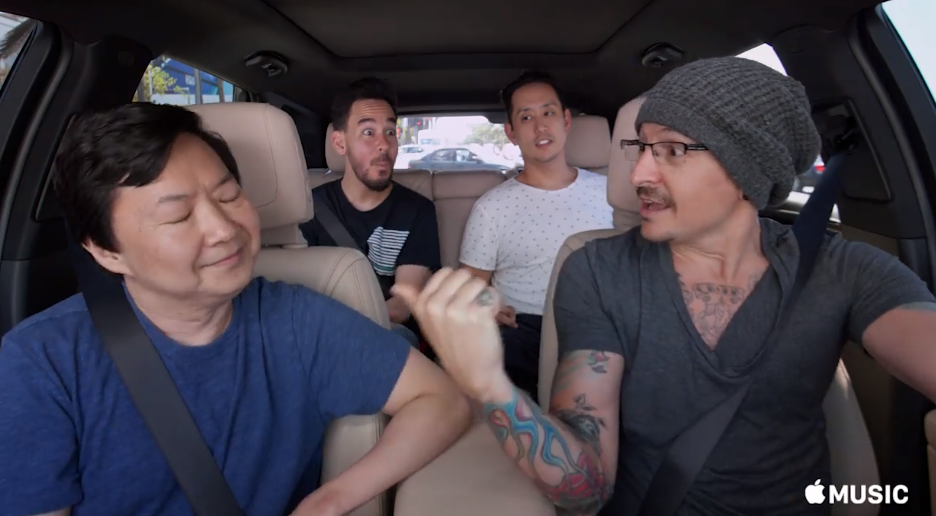 There S No Escaping The Pure Joy In Linkin Park S Carpool Karaoke
