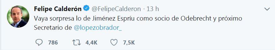 Felipe Calderón cuestiona a AMLO durante el tercer debate presidencial, sobre el caso del secretario...