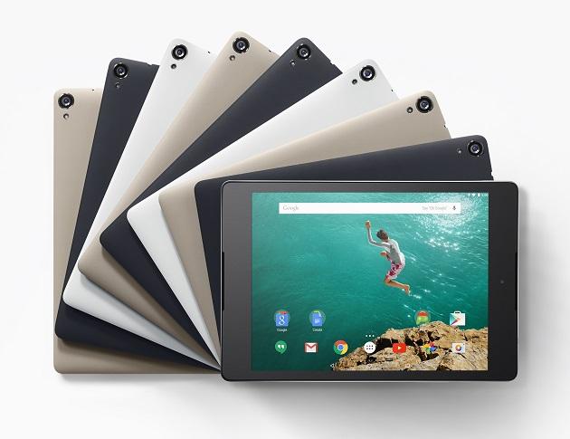 Google Nexus 9 はGoogle Playで...