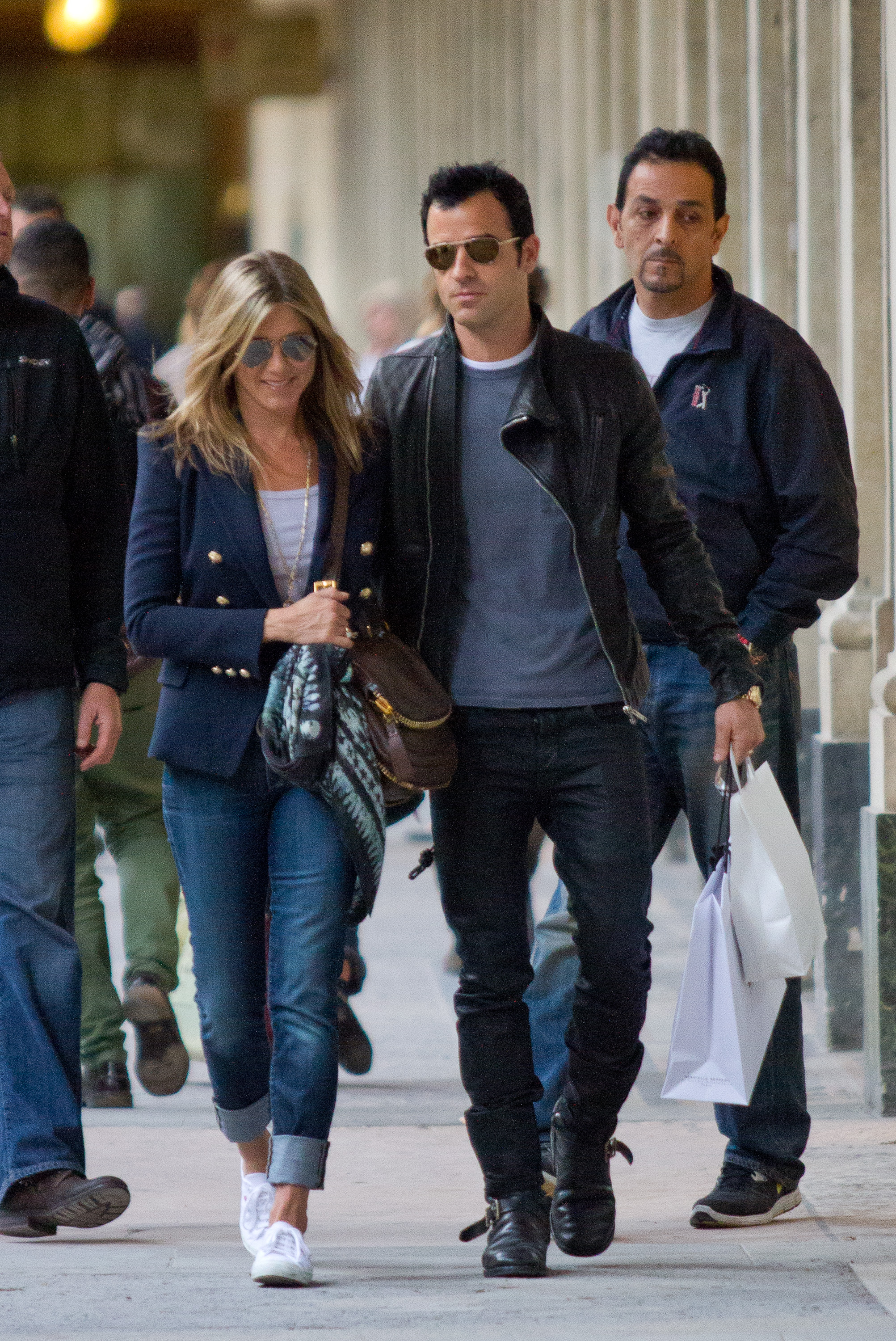 Jennifer Aniston And Justin Theroux Sighting In Paris - June 11, 2012