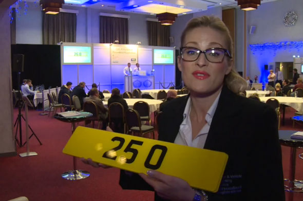 Number plate sells for record figure