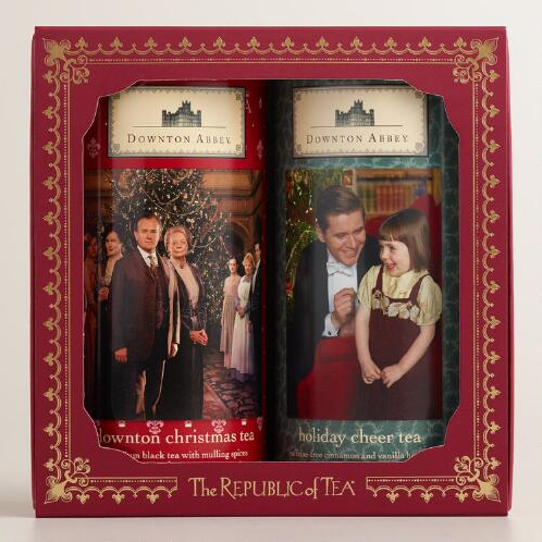 Downton Abbey holiday tea hostess gift