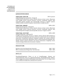 25 Great Resume Templates For All Jobs - AOL Finance
