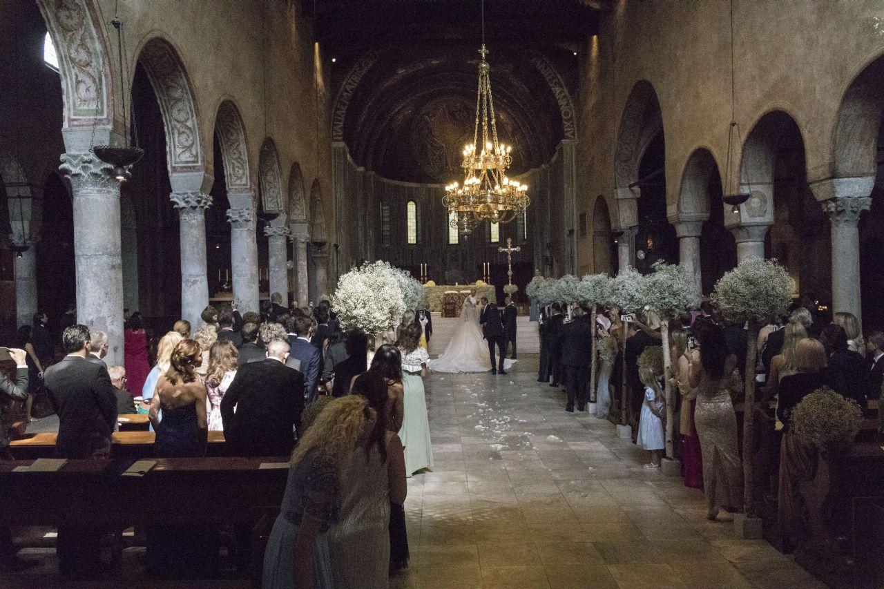 WEDDING VICTORIA SWAROVSKI WERNER MUERZ TRIEST ITALY 16 JUN 2017
