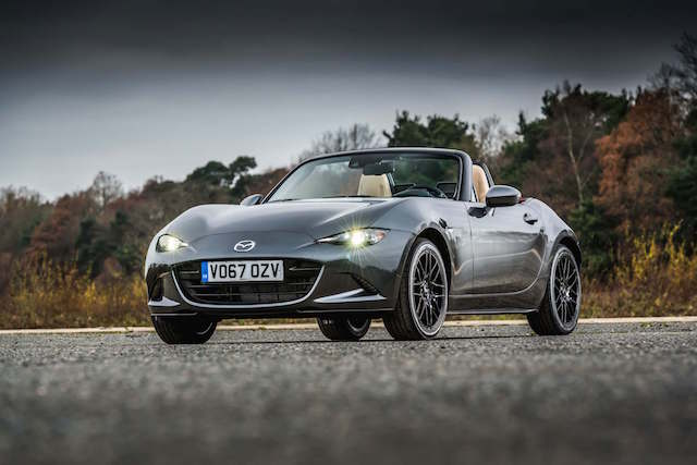 Limited-edition Mazda MX-5 Z-Sport revealed
