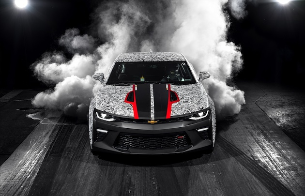 The Camaro SS Drag Race Development Program was created to develop performance parts for 2016+ Camaro models. A test vehicle was built to mimic the typical stair-step enhancements many amateur racers make with their production Camaro SS models, including swapping the differential for one with a numerically higher ratio, adding horsepower-building components such as a cam-and-heads package to push the SS's LT1 engine to 535 horsepower. Additional changes helped to ultimately push the car to a 10.685 ET at 125.73 mph.