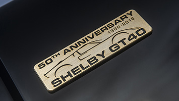 Shelby GT40 MKII 50th Anniversary Edition