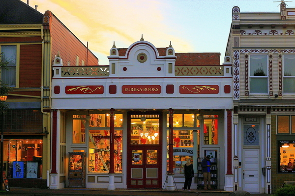Eureka Books in Old Town Eureka