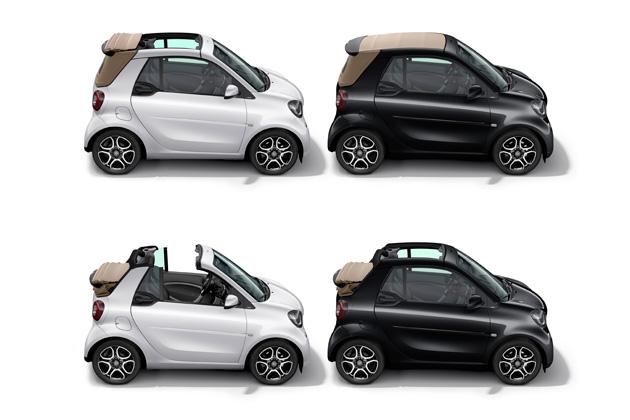 「スマート フォーツーカブリオ」にシックな2つの特別仕様車が登場