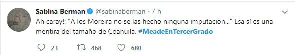 Las mejores reacciones de #MeadeEnTercerGrado y