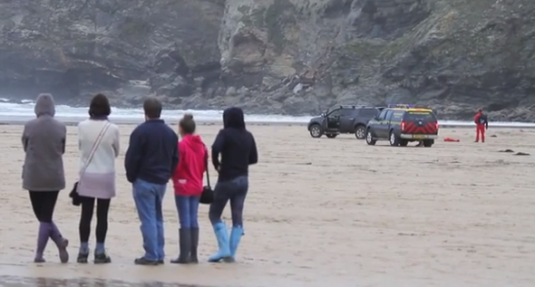 Three surfers die after getting caught in riptide at Cornwall beach