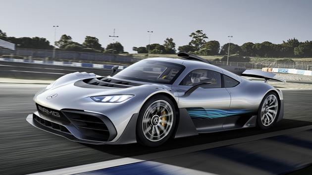 メルセデスAMG、F1エンジン搭載1000馬力の市販車「プロジェクト・ワン」発表。加速性能はブガッティ・シロン超え