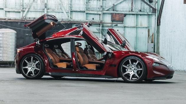 フィスカー、4枚のバタフライ・ドアを持つ新型電動セダン「EMotion」を発表!