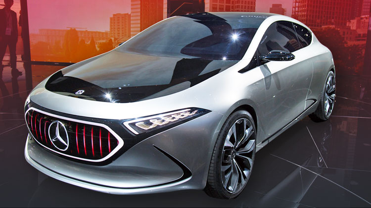 Automakers use Frankfurt to pledge their allegiance to electricity